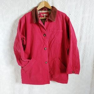 Red Faded Glory coat